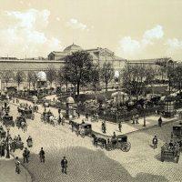 The Square du Temple, the park of le Marais