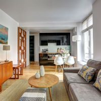 Apartment in Odeon, visit Paris living in its centre