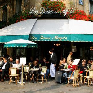 Arrondissement 6, where the best cafés are
