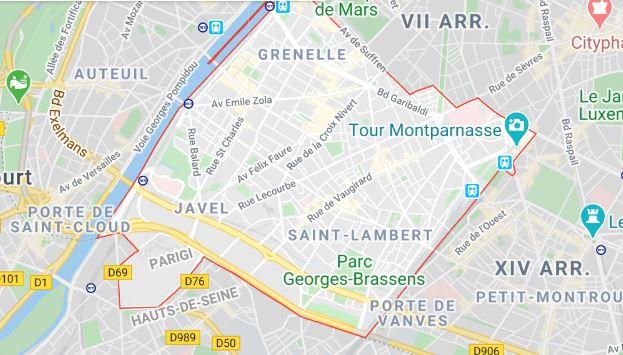 arrondissement 15