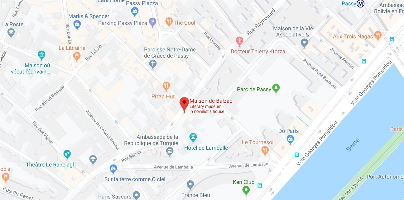 balzac museum paris