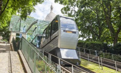 Montmartre Funicular, how to go to Paris hill