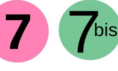 Paris Metro Line 7 and Metro Line 7 bis