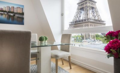Short rental near the Eiffel Tower