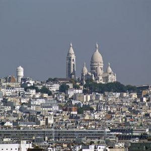 Arrondissement 18, Paris from Above