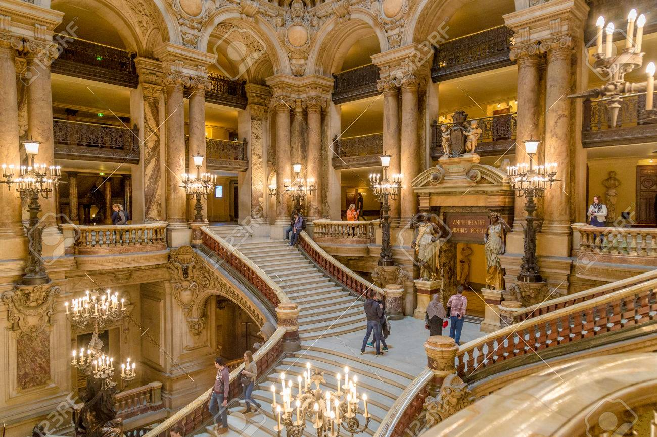 events in paris opera house