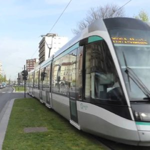 Paris and Neighborhoods by Tram. Lines, info about stops and tickets.