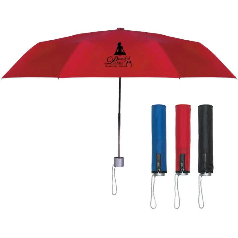 suitcase guide umbrella