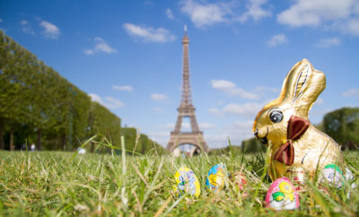 Paris in April, weather, events and info