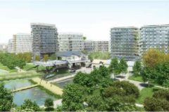Batignolles, green space in Paris