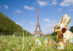 happy easter in paris