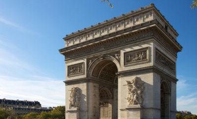 Arc de Triomphe, how to go on top