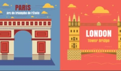 Paris or London? Make your mind clear