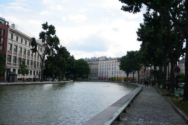 canal st martin landscape