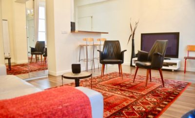 1-bedroom flat in Le Marais for short rentals