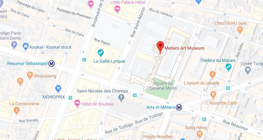 arts et meteirs museum paris