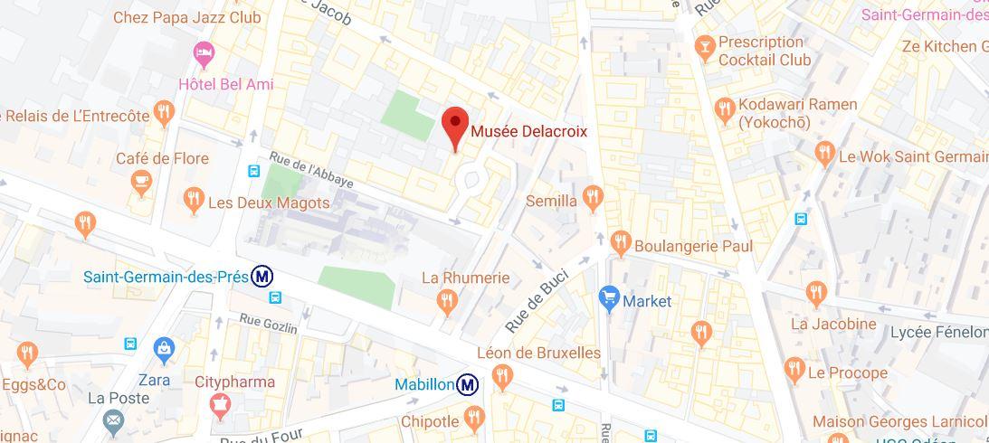 eugene delacroix museum paris