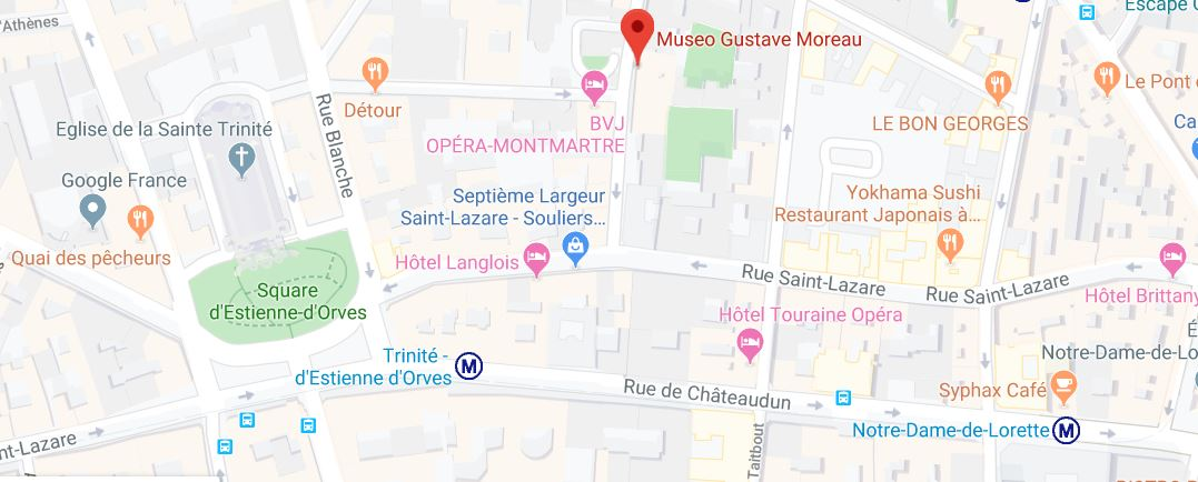 gustave moreau museum paris