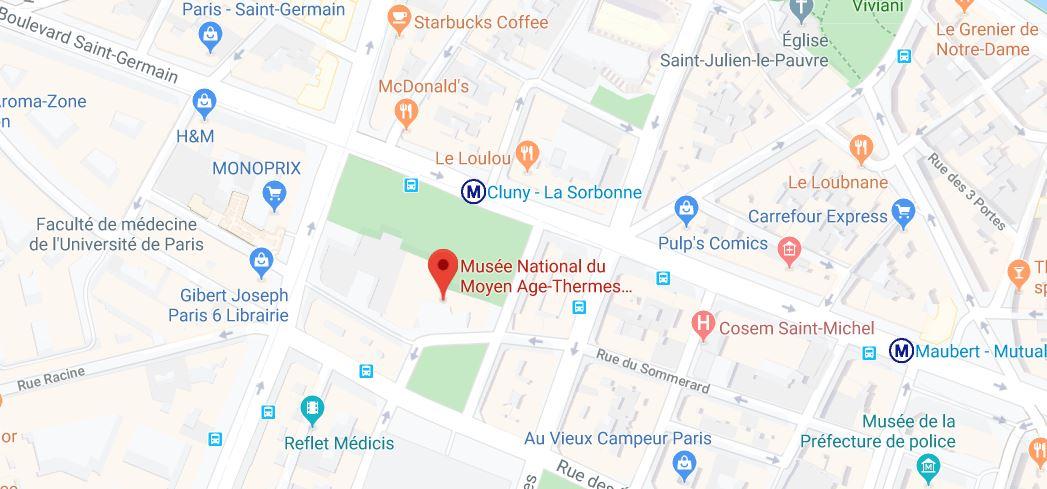 hotel de cluny museum paris