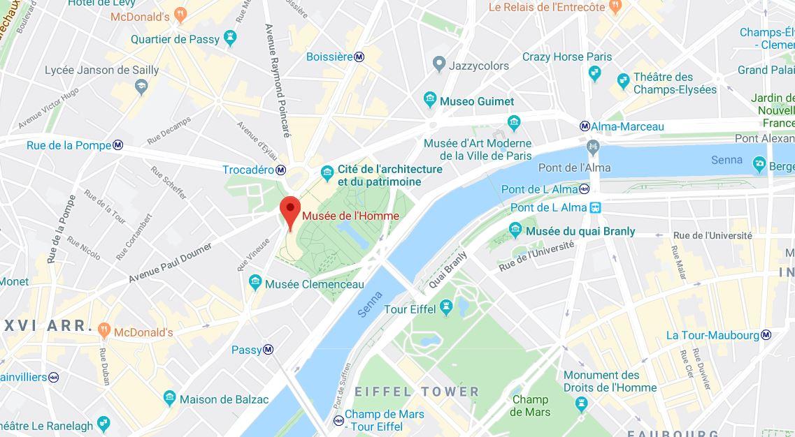 musée de l'homme paris museum