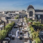 Paris from the rooftop: bar, restaurants, pools