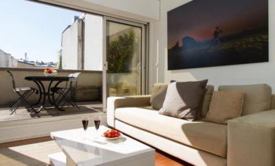 Rooftop Apartment in Le Marais