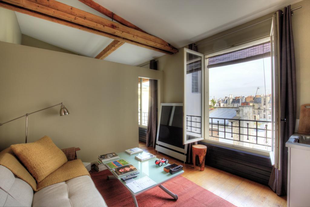 rooftop apartment in paris