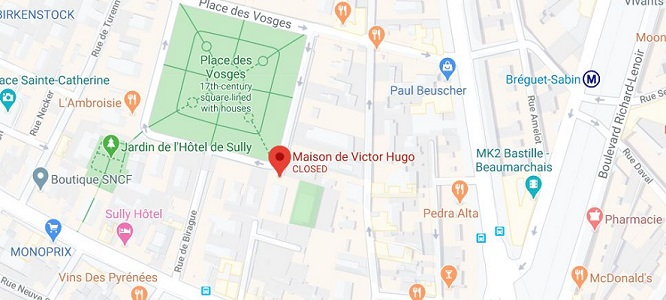 victor hugo house maison paris