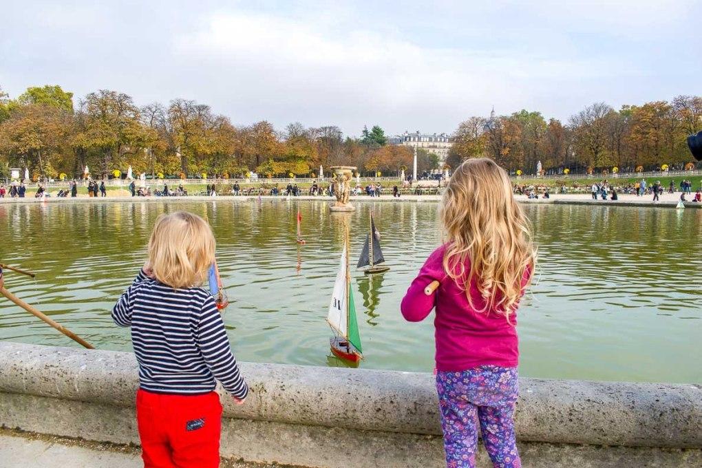 Paris with kids tips