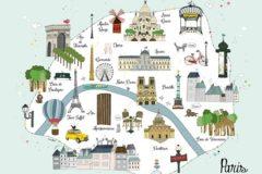 3 days in Paris for kids, a program