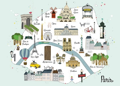 3 days in paris for kids