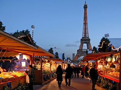 December in Paris, Xmas markets, concerts and events