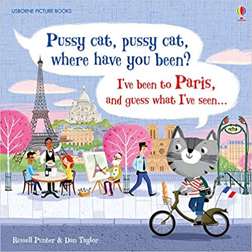 pussy cat paris children book