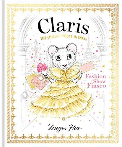 claris mouse children book paris