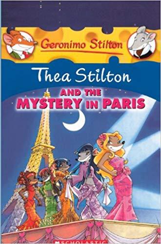 book children kids thea stilton paris