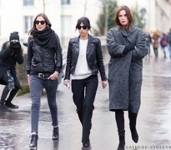 how to dress in paris in winter