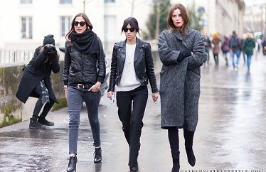 How to dress in Paris in Winter (December, January, February)