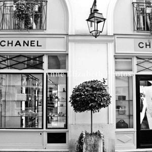 Luxury shopping in Paris, landmarks