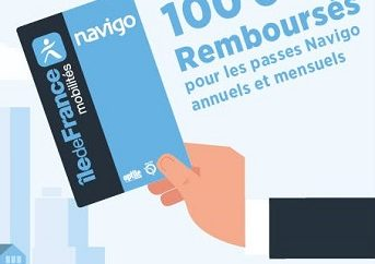 How to request Paris Navigo reimbursement