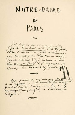 Quotes about Paris, the city through literature