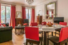 short term rental apartment in paris