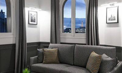 Luxury Apartment with view on the Eiffel Tower
