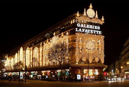 shopping in paris lafayette