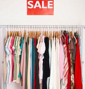 Shopping in Paris during Sales 2021