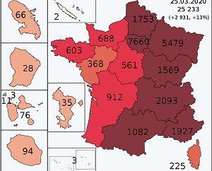 COVID-19 in France, April 2020 updates